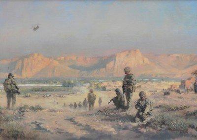 Afghanistan Hemand river valley patrol 1 Mec Bde British Army Helmand Guardsmen Op Herrick