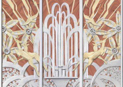 Art Deco Panel Sketch by Michael Alford