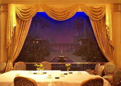 Arabian Nights Casino Mural I by Michael Alford