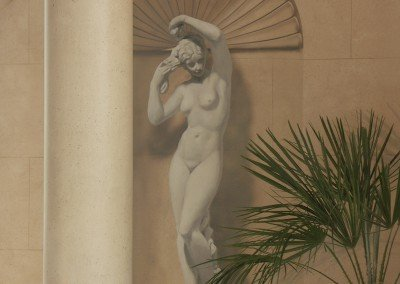 Niche Detail from a Classical Pool by Michael Alford