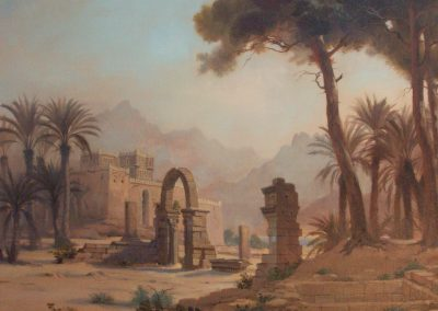 Desert Landscape Mural