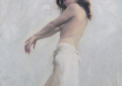 michael alford oil painting eurydice