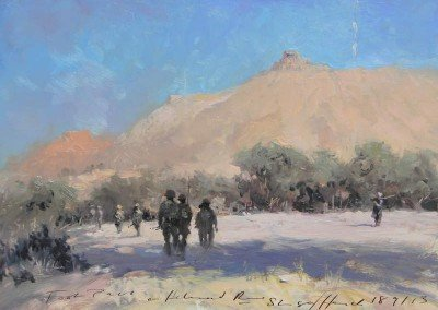 "<Span style=""font-size: 30px; color: #ff3300;"">•</span>Foot Patrol, Helmand River"