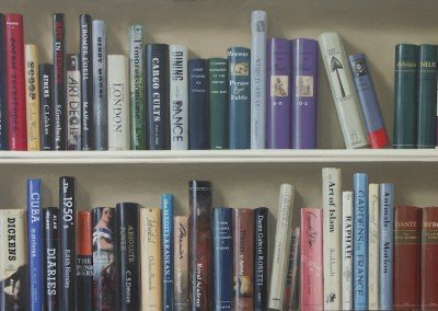 Trompe L'Oeil Bookshelf by Michael Alford