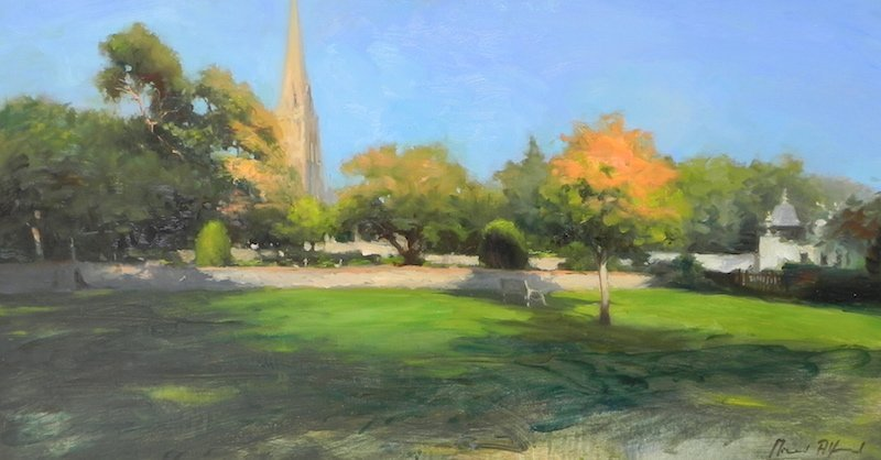 churchyard wimbledon by michael alford