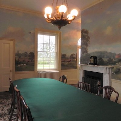 18th century wall mural by Michael Alford