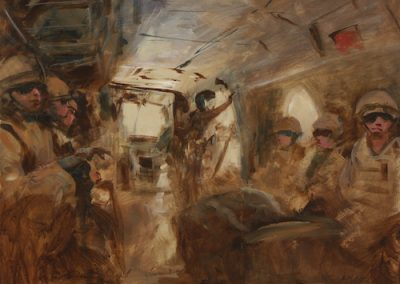 untitled Helmand painting by Michael Alford
