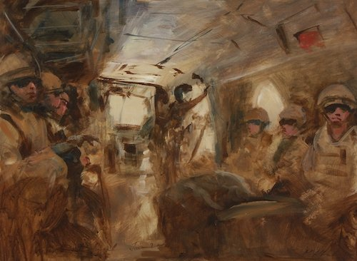 In the Footsteps of Paul Nash: British War Artists Today