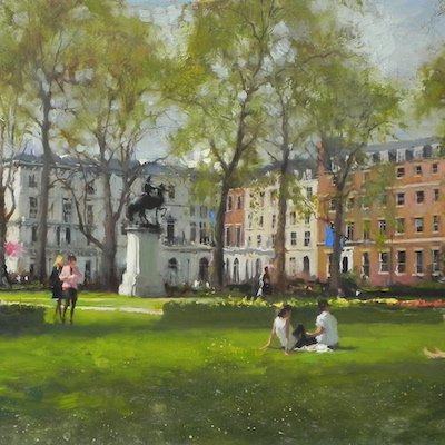Saint James Square, Spring
