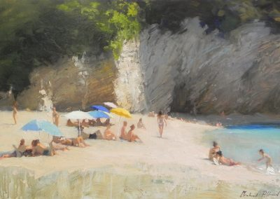 Beach Seascape Greece Corfu