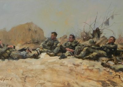 """<Span style=""""font-size: 30px; color: #ff3300;"""">•</span>Irish Guards-Helmand"""