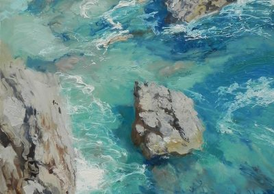 Thalassa Seascape painting