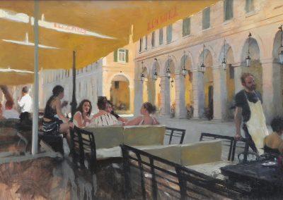 Cafe Greece Summer Mediterranean