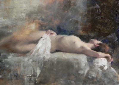 Sleeping Nude 1  14x12
