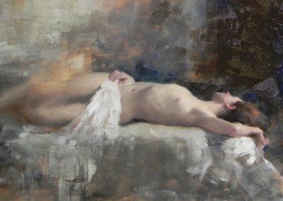 Sleeping Nude 1  14x12