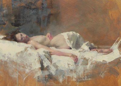 Sleeping Nude/Sienna 1