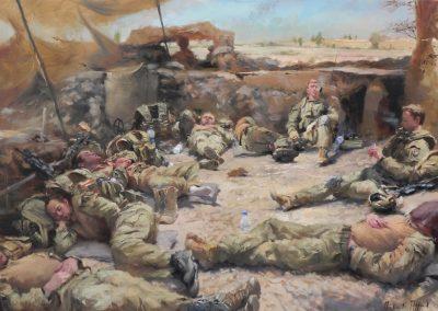 Irish Guards-Helmand British Army Helmand Guardsmen Op Herrick