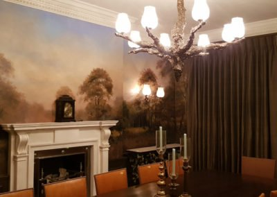 Dining Room Forest Mural