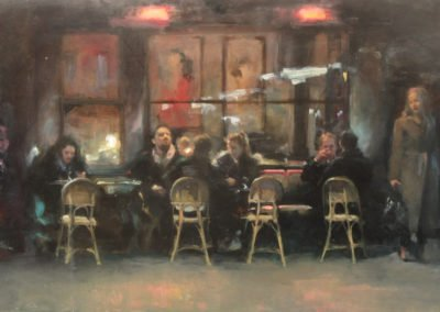 The Colbert Café by Michael Alford
