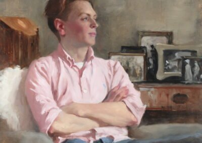 portrait of a young man, Arthur, by Michael Alford