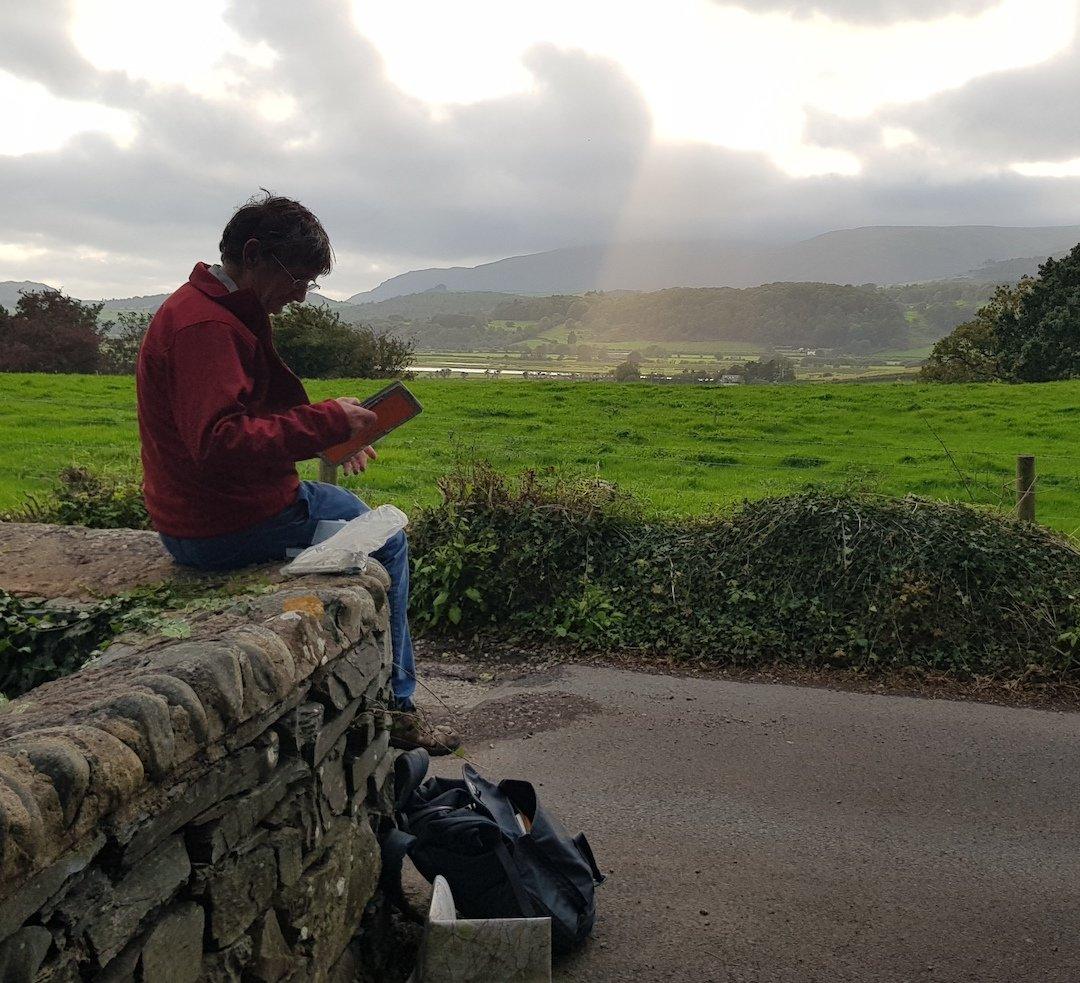 Article image: duddon estuary Lake District