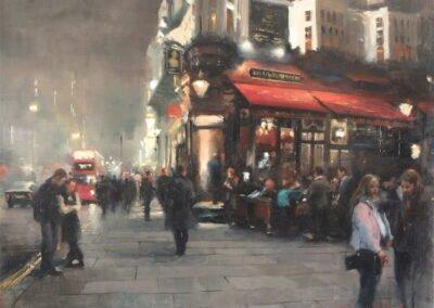 painting image Strand/The Wellington