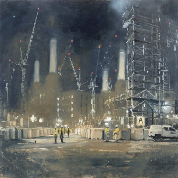 Michael Alford Print Battersea Power Station, Night