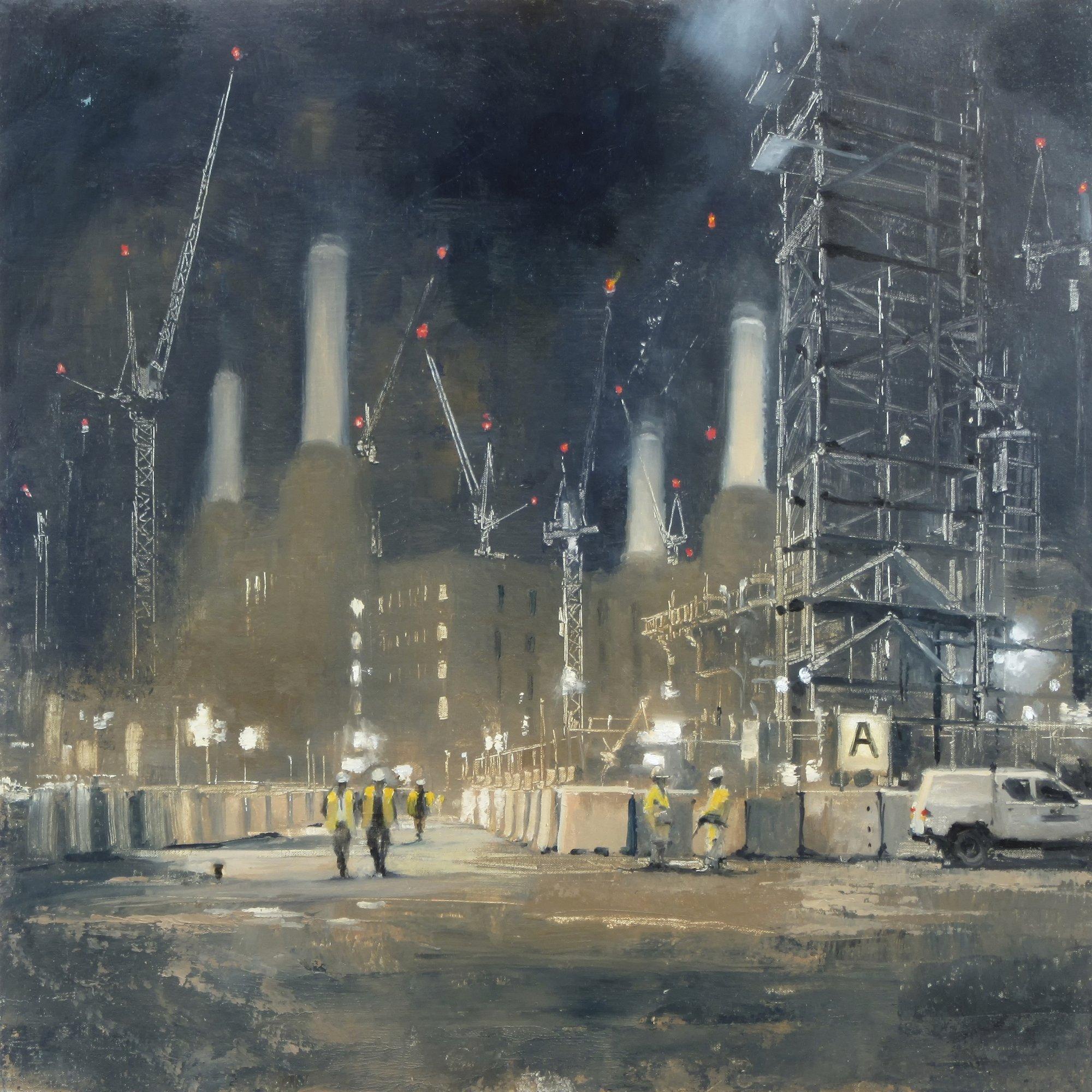 Michael Alford Print Battersea Power Station, Night
