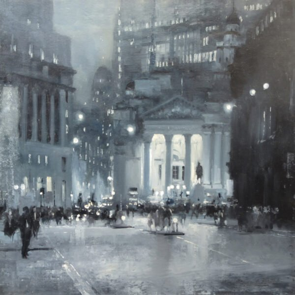 Image of Royal Exchange 2 a cityscape by Michael Alford