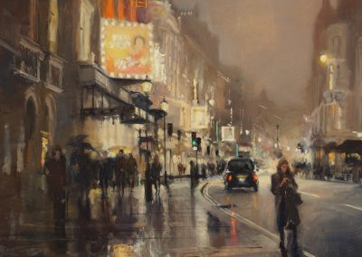 cityscape of London Shaftsbury avenue by michael alford
