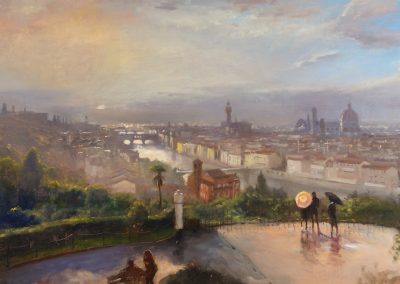Florence, Storm Passing by Michael Alford